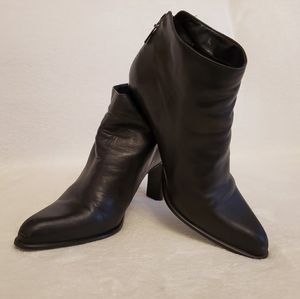 Nine West Black Leather Boots